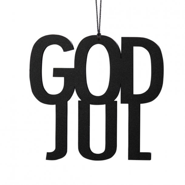 Felius Design, God Jul, Sort
